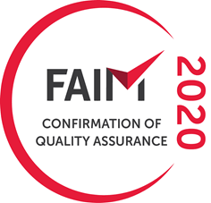 Confirmation of Quality Assurance certificate